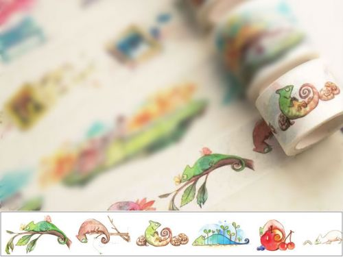 Washi Tape - Chameleon (30mm x 7m) (NEW)