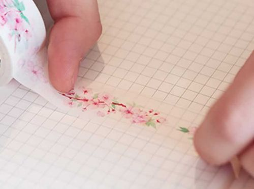 Washi Tape - Cherry Blossom (20mm x 7m)