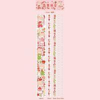 Washi Tape - Box Berry Pie (5pcs) (NEW)