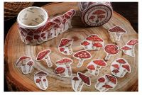 Washi Tape - Mushrooms (100pcs)(NEW)