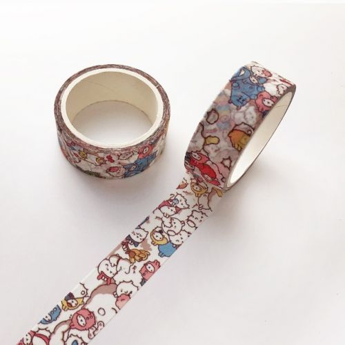 Washi Tape Roll Molang (15mm x 5m) (NEW)