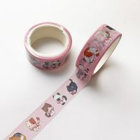 Washi Tape - Pink Cats (15mm x 5m) (NEW)