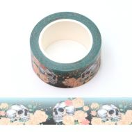 Washi Tape - Skulls and Roses (20mm x 10m) (NEW)