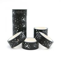 Washi Tape - Roll Stars and Moon (15mm x 5m) (NEW)