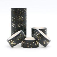 Washi Tape - Gold Stars Moon (15mm x 5m) (NEW)