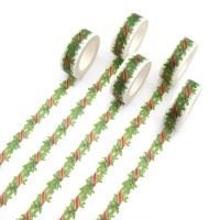 Washi Tape - Christmas Wreath (15mm x 10m) (NEW)
