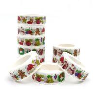 Washi Tape - Washi Tape Christmas Decorations (15mm x 10m) (NEW)