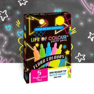 Life of Colour - Fluro Colours Pack Paint Pens - Medium Tip (3mm)