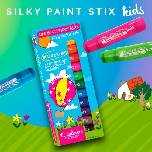 Life of Colour - Silky Paint Stix Kids (NEW)