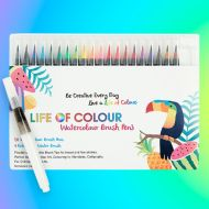 Life of Colour - Watercolour Brush Pen Set