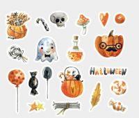 Stickers - Bag - Halloween Night of Wonder (40pcs) (NEW)