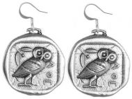 Earrings - Athenas Owl