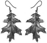 Earrings - Oak Leaf