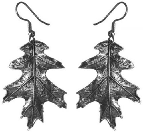 Earrings - Oak Leaf