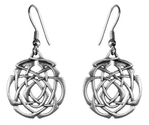 Earrings - Eternity Knot.