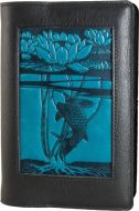 Icon Journal - Water Lily Koi - Black/Navy (NEW)