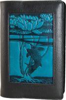 Icon Journal - Water Lily Koi - Black/Navy.