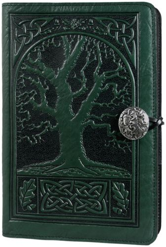 Large Journal - Celtic Oak - Green