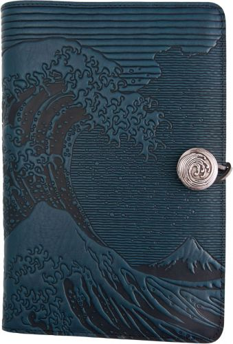 Small Journal - Hokusai Wave - Navy Blue