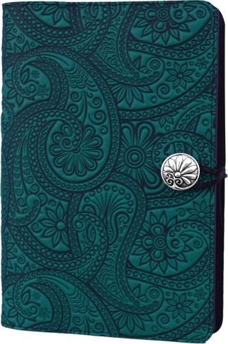 Small Journal - Paisley - Teal