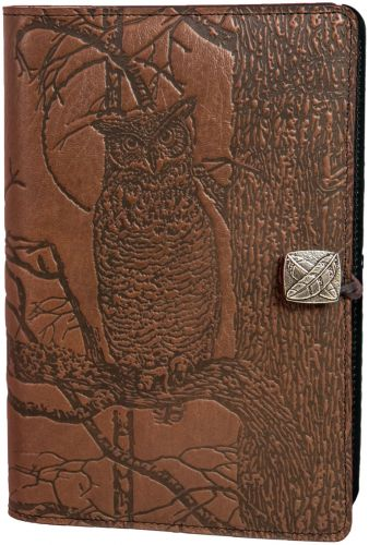Small Journal - Horned Owl - Saddle Brown (NEW)
