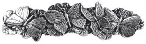 Hair Clip / Barrette - Butterflies 70mm