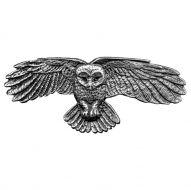 Hair Clip / Barrette - Owl 70mm