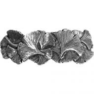 Hair Clip / Barrette - Ginko Leaf 70mm