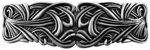 Hair Clip / Barrette - Art Nouveau Swirl 80mm