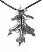 Necklace - Oak Leaf