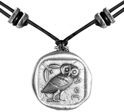 Necklace - Athenas Owl