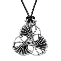 Necklace - Art Nouveau Ginkgo (NEW)