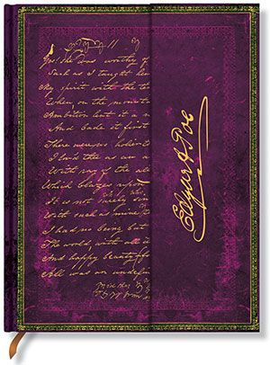 Paperblanks Edgar Allen Poe, Tamerlane Ultra LINED (RARE)