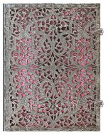 Paperblanks Silver Filigree Blush Pink Ultra LINED (PRE-ORDER)