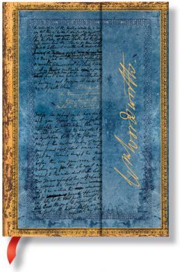 Paperblanks Wordsworth, Letter Quoting Daffodils Midi LINED