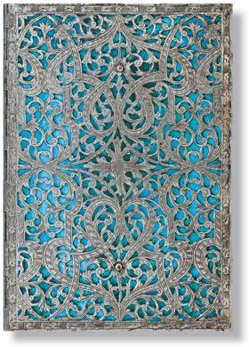 Paperblanks Address Book - Maya Blue Midi.