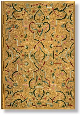 Paperblanks Address Book - Gold Inlay Midi