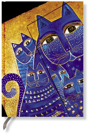 Paperblanks Address Book - Mediterranean Cats Mini