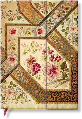 Paperblanks Filigree Floral Ivory Midi LINED