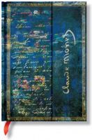 Paperblanks Monet (Water Lilies), Letter to Morisot Midi LINED