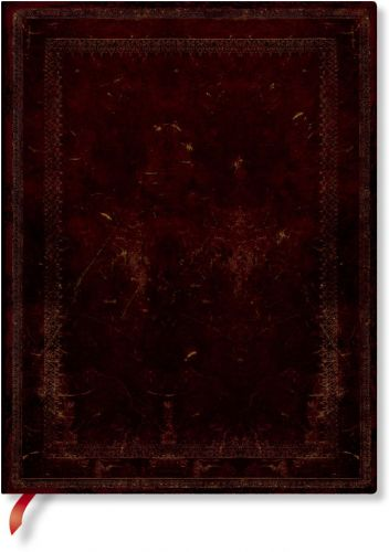 Paperblanks Flexis Black Moroccan BOLD Ultra 240pp SOFTCOVER LINED.