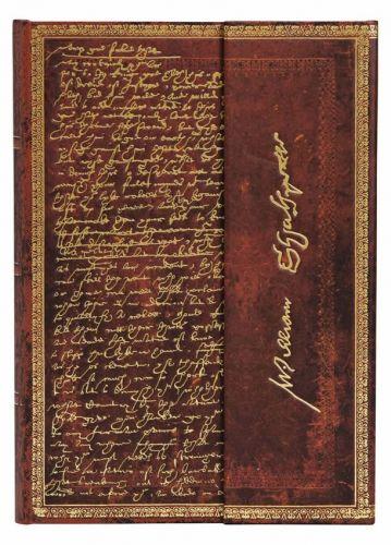 Paperblanks Shakespeare, Sir Thomas More Midi LINED