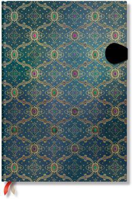 Paperblanks French Ornate Bleu Grande LINED (*RARE).