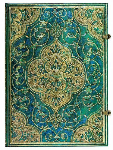 Paperblanks Turquoise Chronicles Grande UNLINED.