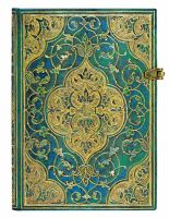 Paperblanks Turquoise Chronicles Midi LINED (RARE*)