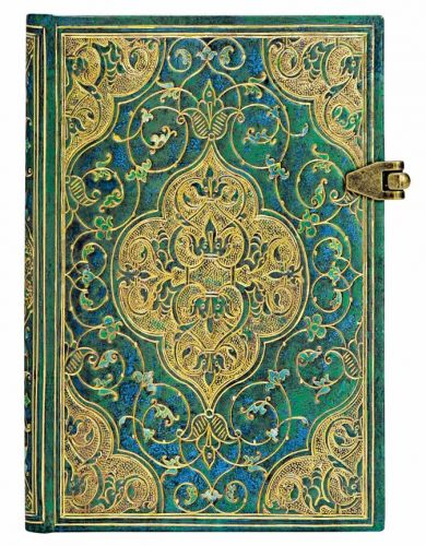 Paperblanks Turquoise Chronicles Mini UNLINED