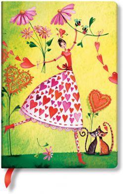 Paperblanks Mila Marquis - Valentina Midi LINED