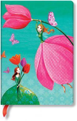 Paperblanks Mila Marquis - Joyous Spring Midi LINED