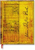 Paperblanks Bach, Cantata BWV 112 Ultra UNLINED (NEW)