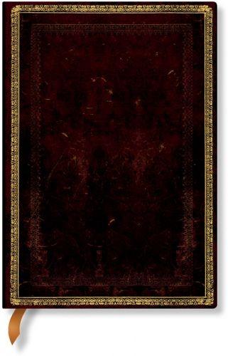 Paperblanks Black Moroccan Midi LINED (Signature Edition)